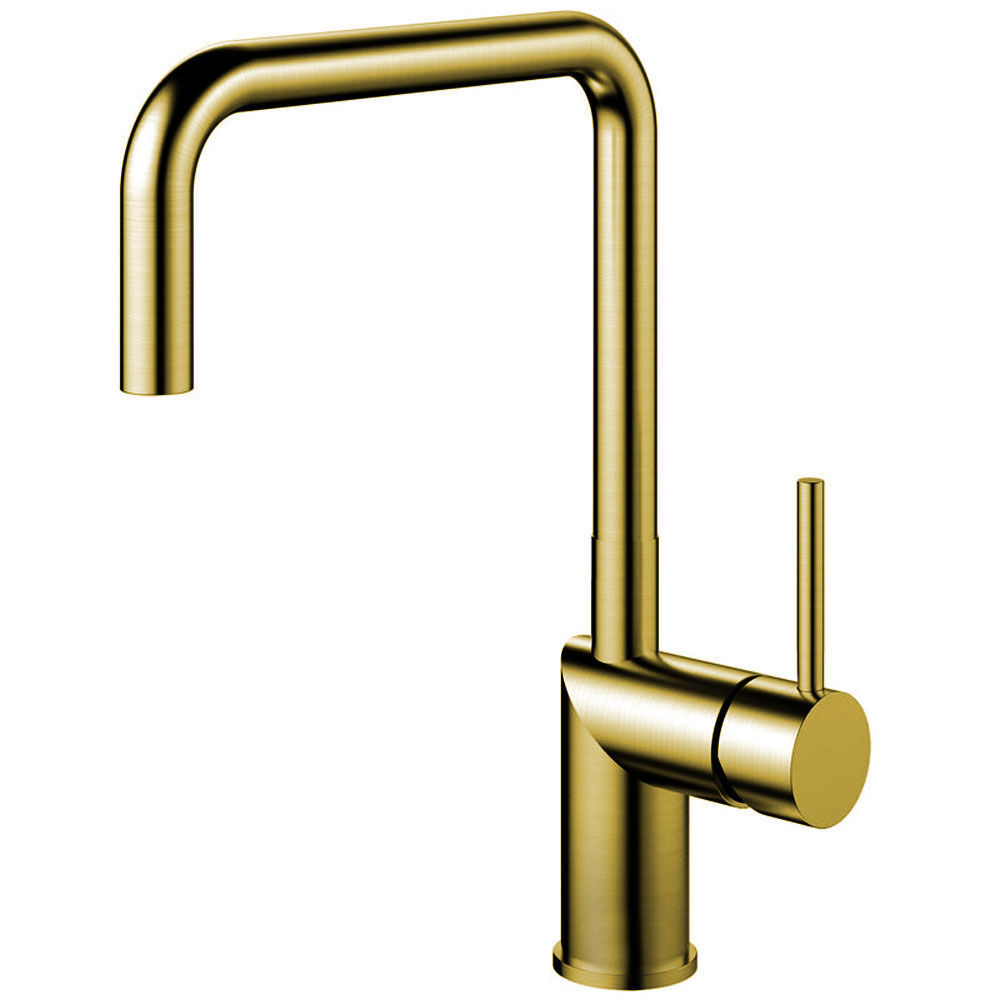 Brass/Gold Kitchen Mixer Tap - Nivito RH-340