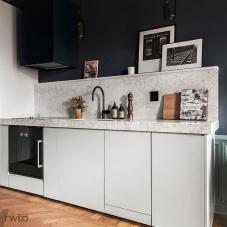Black Kitchen Mixer Tap - Nivito 1-RH-120
