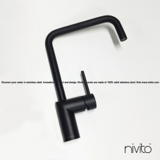 Black design tapware
