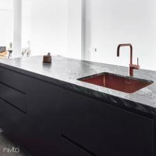 Copper Kitchen Sink - Nivito 2-CU-500-BC