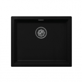 Black Kitchen Basin - Nivito CU-500-GR-BL