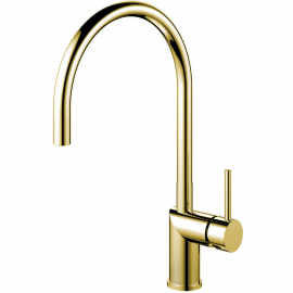 Brass/Gold Kitchen Mixer Tap - Nivito RH-160
