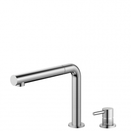 Stainless Steel Kitchen Mixer Tap Pullout hose / Seperated Body/Pipe - Nivito RH-600-VI
